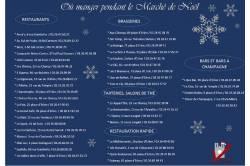 Se Restaurer Marché de Noël