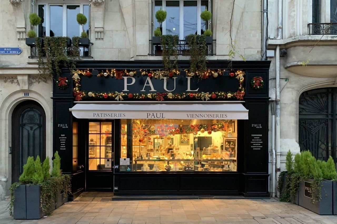 Boulangerie PAUL - Muffin choco blanc cranberries