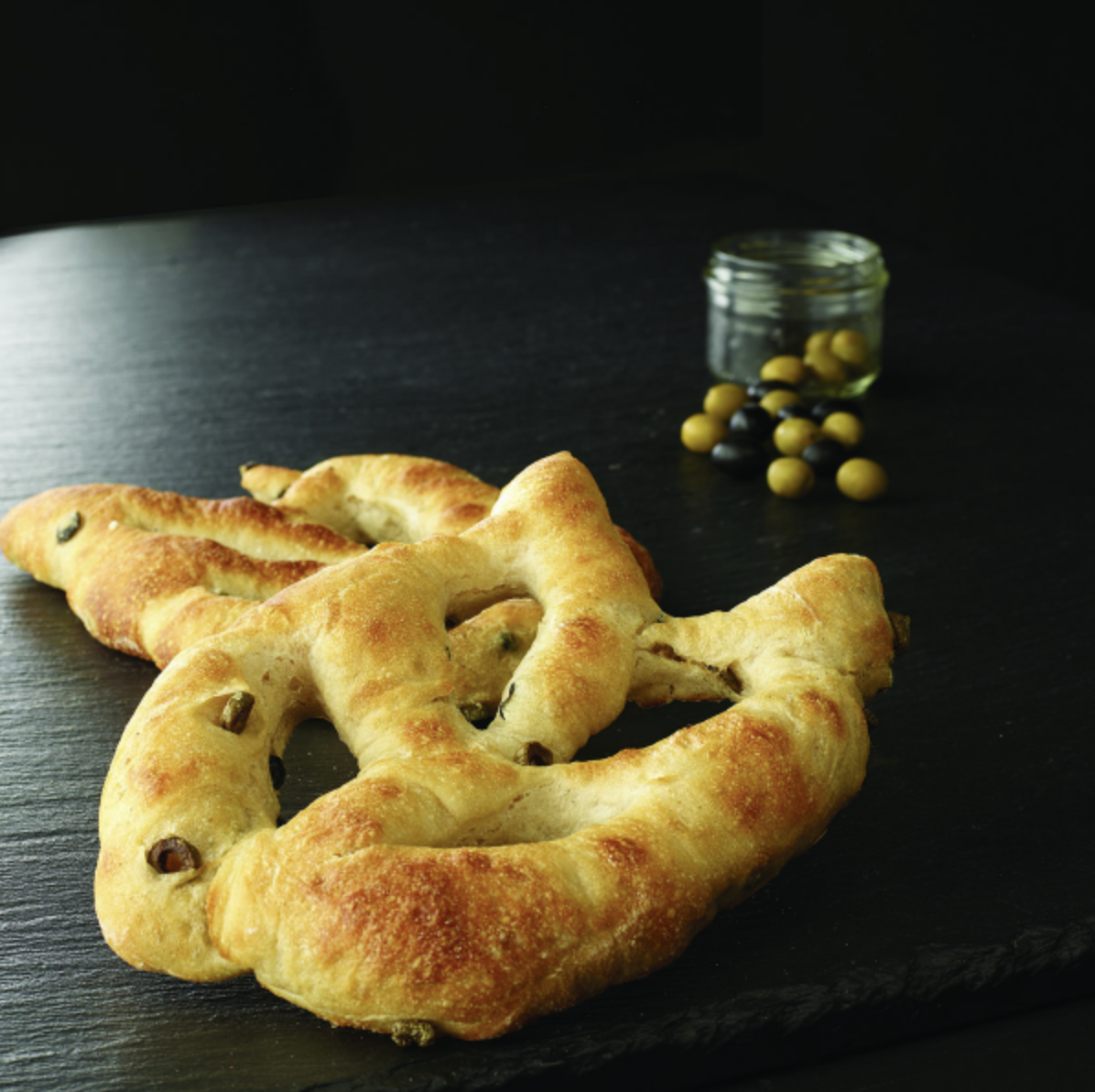 Boulangerie PAUL - Fougasse aux 2 olives