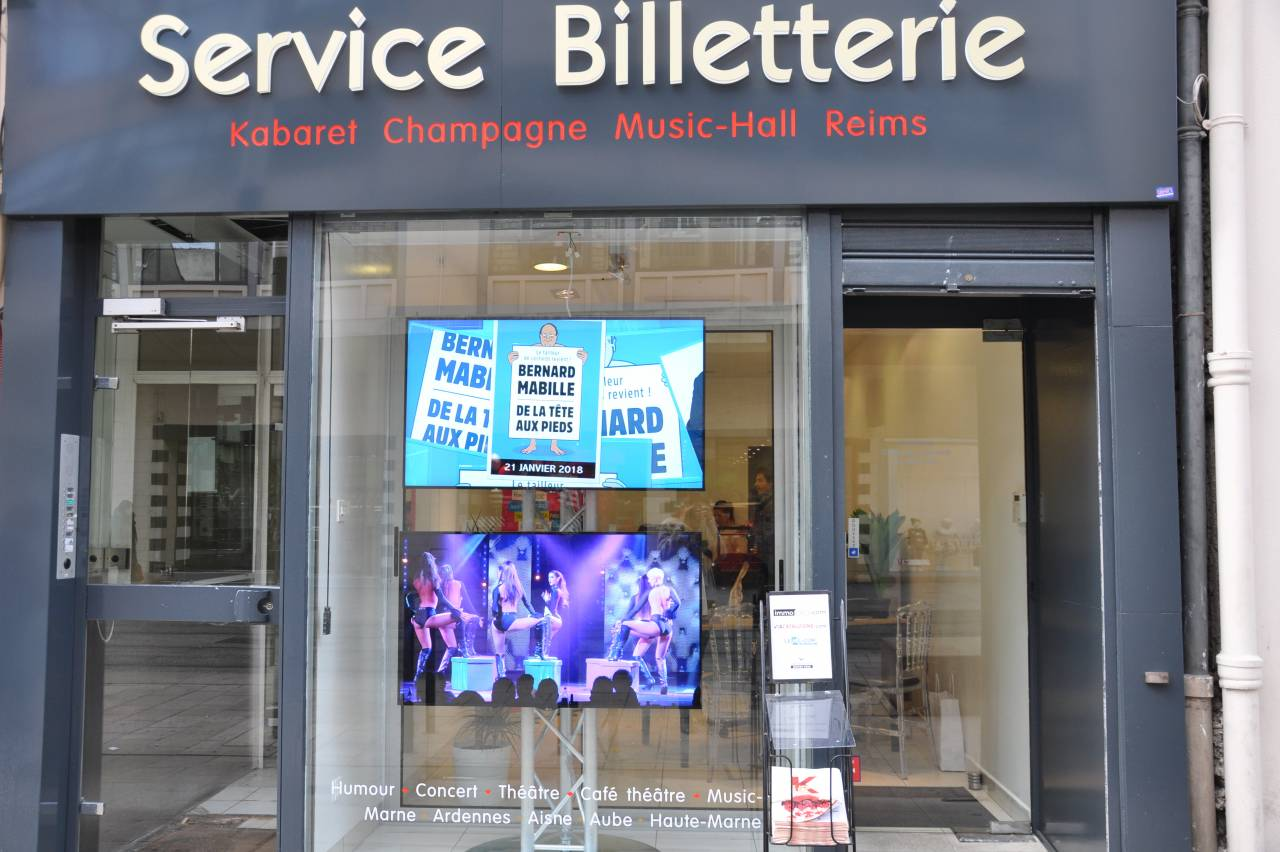 La Billetterie du Spectacle - commerces Reims