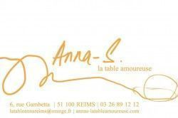 ANNA'S LA TABLE AMOUREUSE - Restaurants / Hôtels / Bars / Brasseries Reims